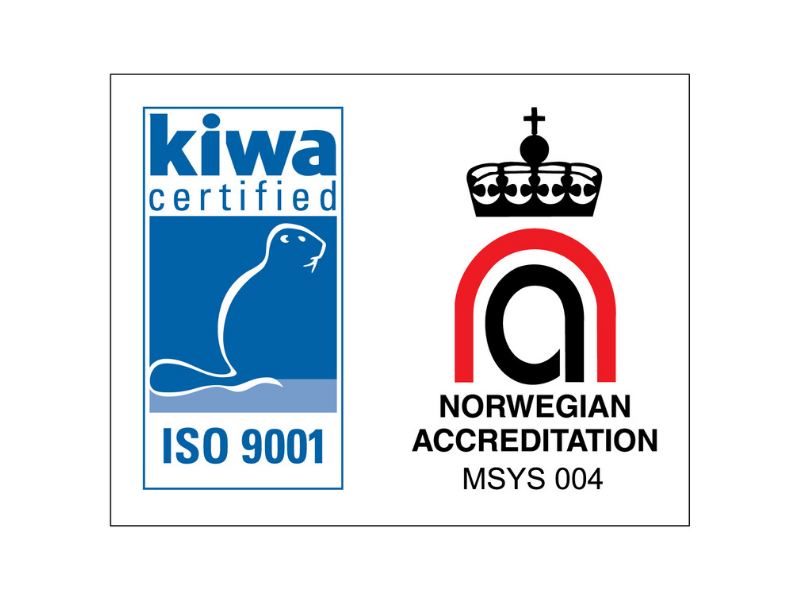 Kiwa Sertifisert Iso 9001